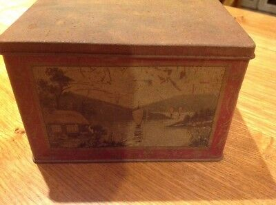 Vintage Collectable Tin Possible Tea Caddy