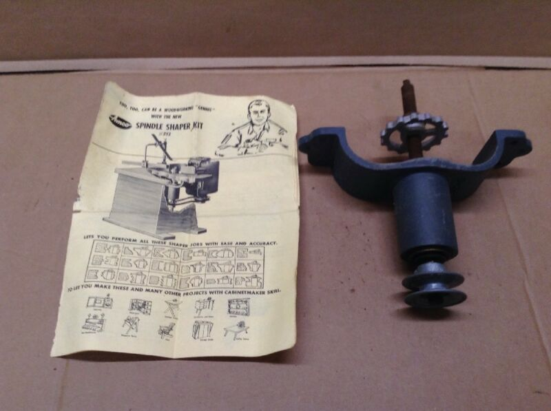 AMCO Spindle Shaper  # 252 & Instructions  AMC-01