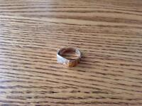 Men's size 10 custom ring