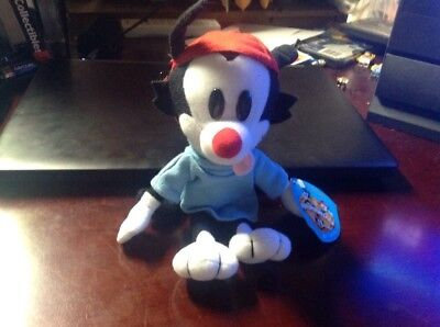 Animaniacs Wakko Dakin Plush, 1993, 9 In., With Tag, SIGNED BY JESS HARNELL