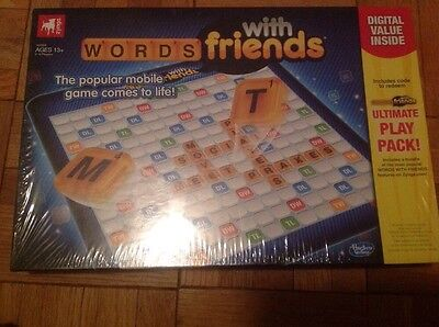 New Zynga Words With Friends Board Game Classic Learn Spelling Family Fun Night