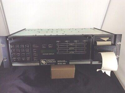 Silent Knight 9000 Digital Alarm System Monitoring Receiver Printer Alarm Monitor Receiver