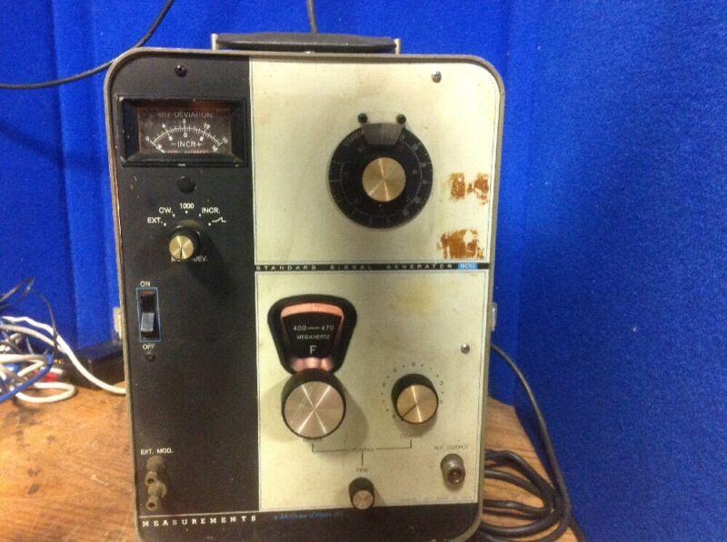 Measurements Standard Signal Generator 800
