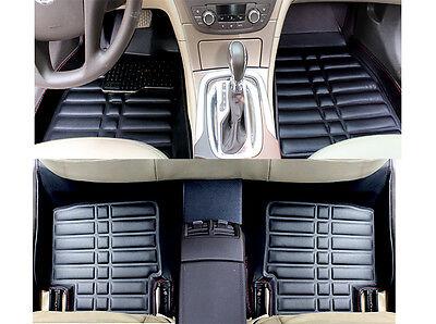 FLY5D Auto Car Floor Mats Front Rear Liner Mat Fit for BMW X1 2016 Black Carpets