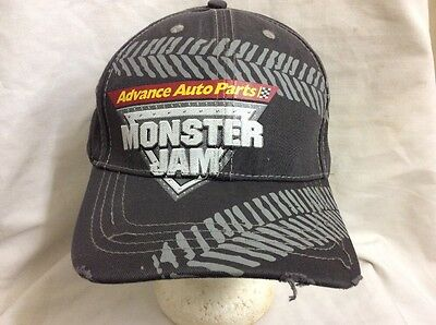 Trucker Hat Baseball Cap Advance Auto Parts Monster Jam Retro Vintage Nice