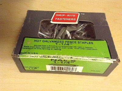 .prime Source Hot Galvanized Fence Staples 114hgfs1