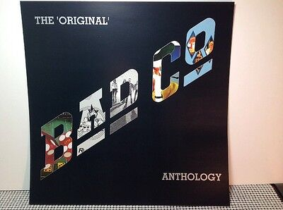 "BAD COMPANY Original Anthology PROMO POSTER 12""x12"" FLAT 1999 Paul Rodgers AC/DC"