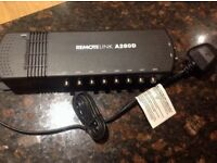 Antiference REMOTELINK A280D 2 Inputs 8 Outputs VHF UHF Indoor Amplifier 100562