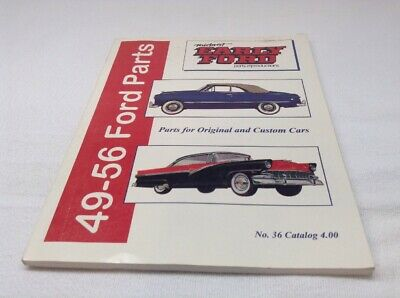 Midwest Early Ford No.36 Catalog 49-56 Ford Parts Original And Custom Cars, used for sale  La Follette