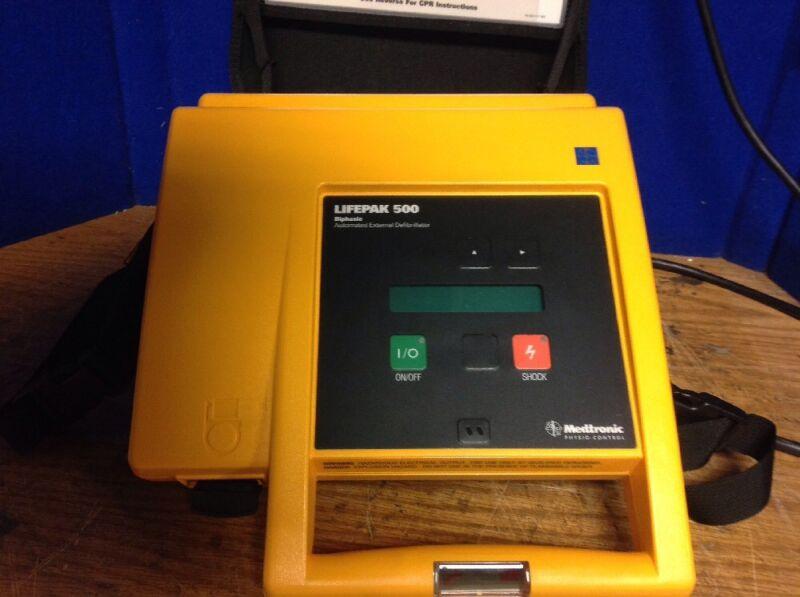 LifePak 500 Biphasic Automated External  Physio-Control