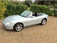 MAZDA MX-5 SPORT LEATHER PARKING SENSORS (silver) 2003