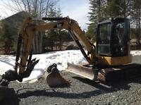Mini Excavation services- Williams Developments Inc.