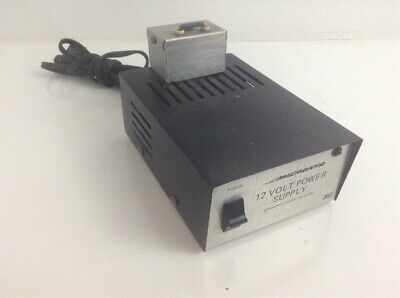 Micronta Regulated 12 Volt Power Supply Converts 120 Vac To 12 Vdc  Misc 1
