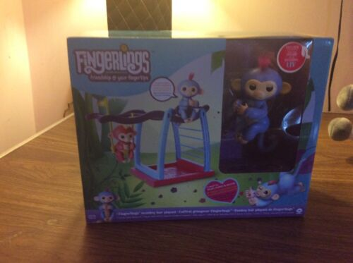 Fingerlings Monkey Bar Playset With Exclusive Monkey Liv 100