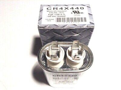 4 Mfd Capacitor Oval 440v Hvac Motor Air Compressor Pool Pump Ac