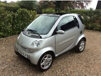 SMART CITY-CABRIOLET PASSION SOFTOUCH FSH 47k (silver) 2004