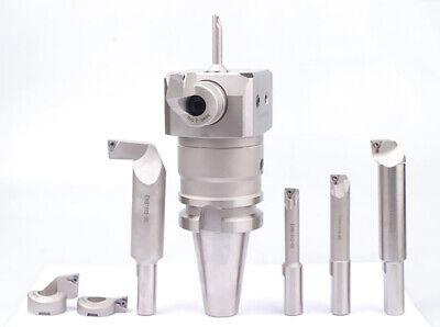 Precision Boring Facing Head .0002 Fine Machining 8mm-203mm Cat40 Comb