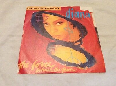 "Diana Ross-The Force Behind The Power(Edit)/Supremes Medley 7"" Single.1991 Emi."