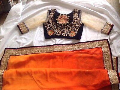 Одежда Сари Indian Pakistani Saree Sari