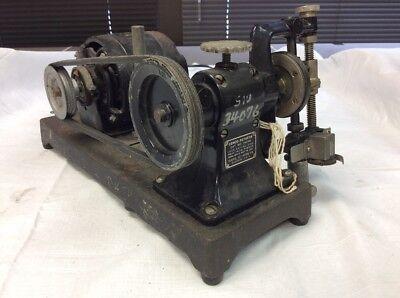 Cenco Central Scientific Company Rotator Ge Motor Belt Drive W Counter 894s