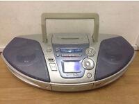 Panasonic Stereo Boombox