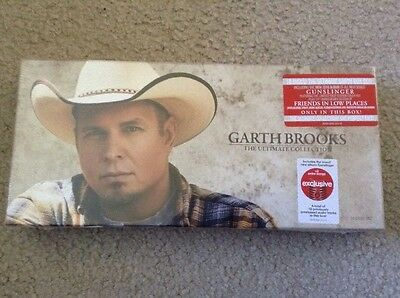 New Garth Brooks The Ultimate Collection 10 Disc Set W/ 2016 Album Gunslinger