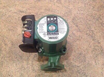 Wilo Water Circulating Pump 3speed Nr. 4090765. Star S21fx. 115v 60hz