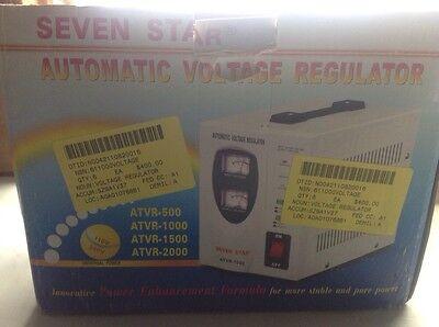 Seven Star Automatic Voltage Regulator Atvr-1500