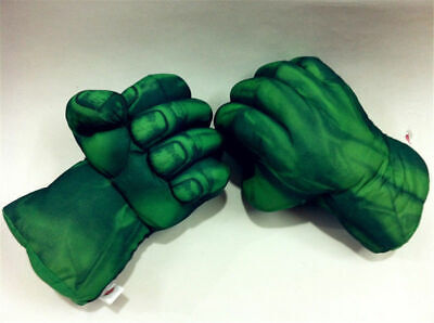 Incredible Hulk For Kids (Incredible Hulk Smash Hands Plush Gloves Cosplay Props For Boy Kids Fans)