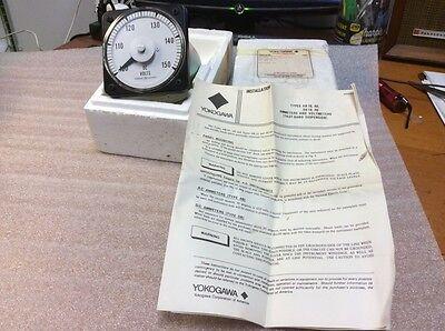 Ge Yokogawa 103071pnpn7jla Dc Exp Scl Voltmeter 100-150v New Nos Sale 199