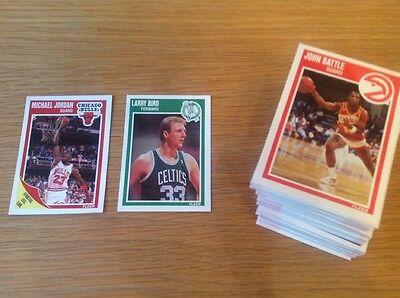 Complete set Fleer 1989 NBA Basketball Trading Card Vintage Michael Jordan Magic