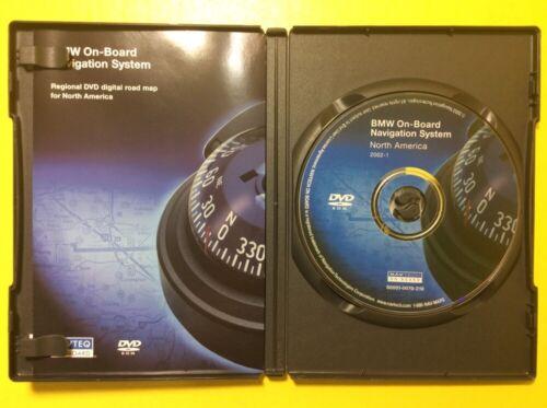 BMW OEM Navigation GPS CD DVD NAVTECH S0001-0070-210  North America #CD177