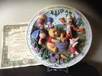 Winne the Pooh  Birthday party plate