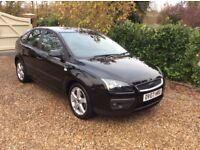 FORD FOCUS ZETEC CLIMATE FSH (black) 2007