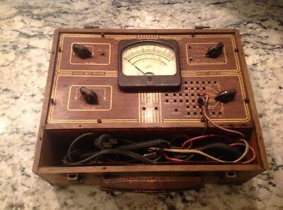 Antique Hickok Model 4900-s Radio Set Tester. Untested Parts Or Repair