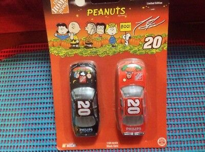 Home Depot Peanuts Halloween Tony Stewart NASCAR Cars Limited Edition - Tony Stewart Halloween