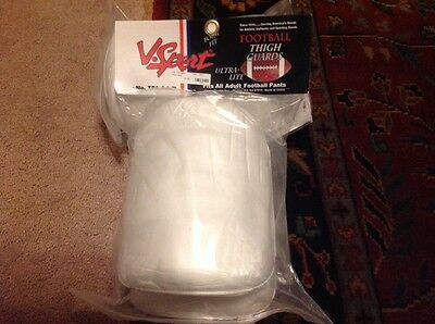 VKM Sports ultra lite football thigh guards - adult new in package