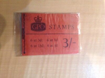 Great Britain Stamp Booklet 3/- May1965 M74