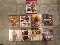 Sony PS 3 Games