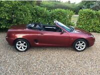 MG MGF STEPTRONIC 1 OWNER 77k FSH (red) 2001