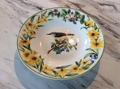 National Wildlife Federation Bird Cereal Soup Bowl Number Two