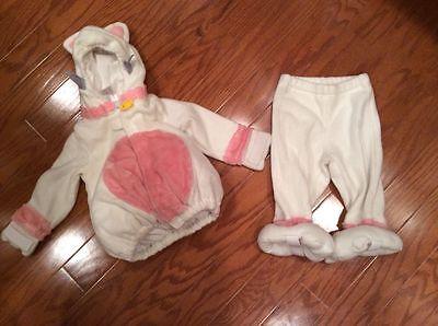 Old Navy Cat Kitten Halloween Costume Size 6-12 Months Pink - Old Guy Halloween Costume