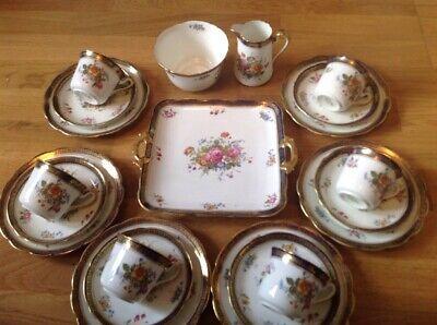 Jackson & Gosling Grosvenor China Ye Olde English ( 21 Piece Tea Set ) for sale  Shipping to Canada