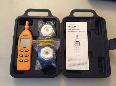 Extech Rh305 Humidity Testers - Hygrometers - Style Psychrometer Damaged