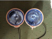 Britax Blue Lens 12v Truck Spotlights - Set of Two £40.00 - Collection Only