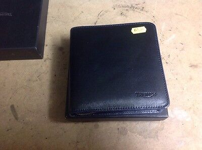 Triumph Leather CD Holder Wallet In Presentation Box NEW