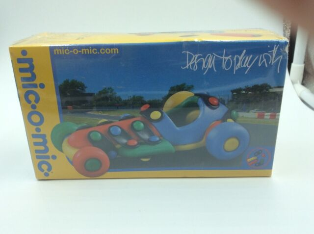 Mic O Mic Design To Play With Racing Car QualityToy Made In Germany New & Sealed