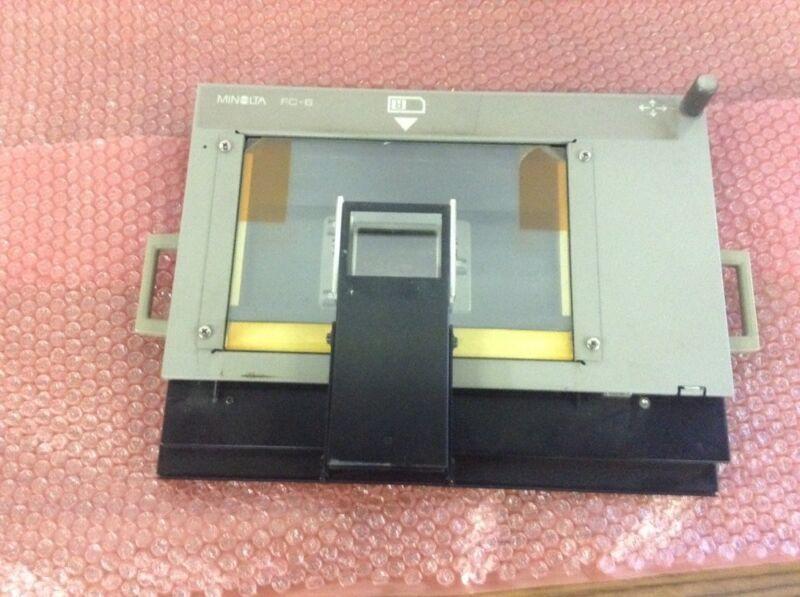 Minolta Microfiche Tray FC-6