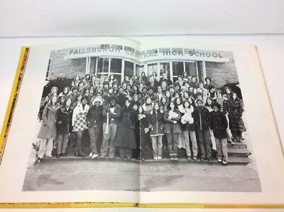 Focus 75 Fallsburgh Central High School Pa Pennsylvannia Class Of 1975 Yearbook