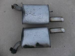 Mustang GT mufflers......factory stock.......low miles.........